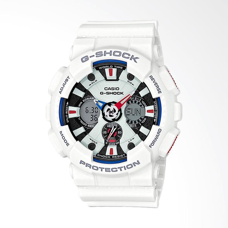 CASIO G-Shock Jam Tangan Pria - White GA-120TR-7ADR