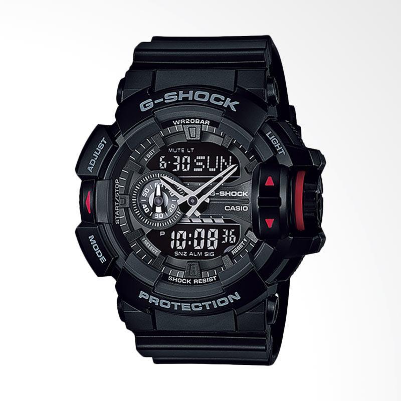 CASIO G-Shock Jam Tangan Pria - Black GA-400-1BDR
