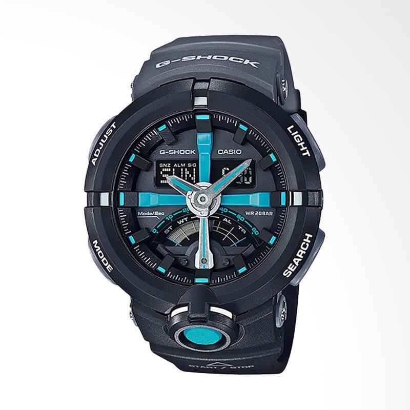 Casio G-Shock Jam Tangan Pria - Black GA-500P-1ADR
