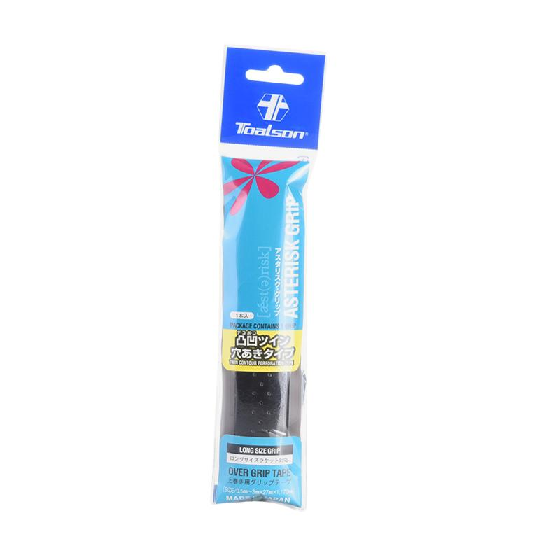 Toalson Overgrip Asterisk Twin Contour - Black