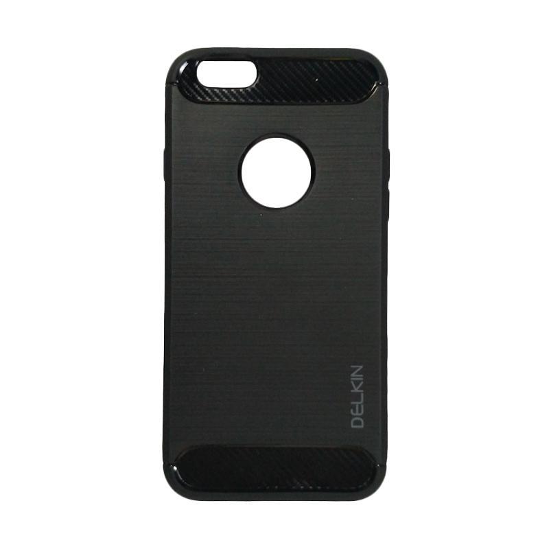 Delkin Slim Carbon Armor Casing for iPhone 6G  - Hitam