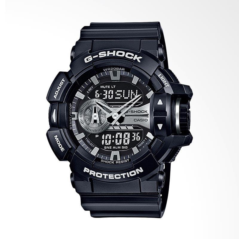 Jual CASIO G-Shock GA-400GB-1A Strap Resin Jam Tangan Pria - Black Online -  Harga   Kualitas Terjamin  a2cf6a7a39