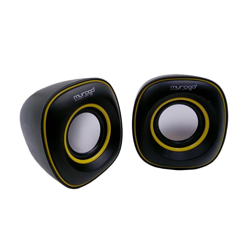 Murago G-105 USB Mini Speaker - Kuning