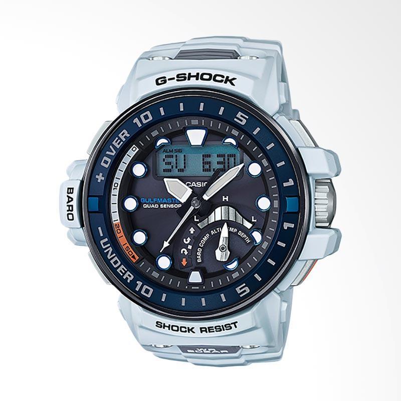 CASIO G-Shock Gulfmaster Jam Tangan Pria - White GWN-Q1000-7ADR