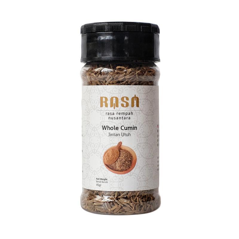 RASA Whole Cumin Seeds Jintan Utuh Bumbu Masak [45 g]