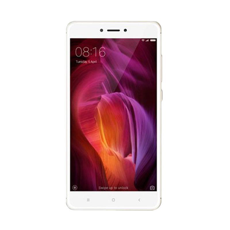 Jual Xiaomi Redmi Note 4 Smartphone – Gold [64GB/4GB/Resmi TAM]