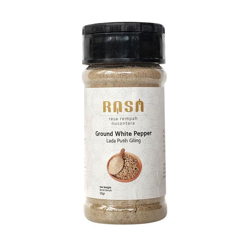 RASA Ground White Pepper Lada Putih Giling Bumbu Masak [55 g]