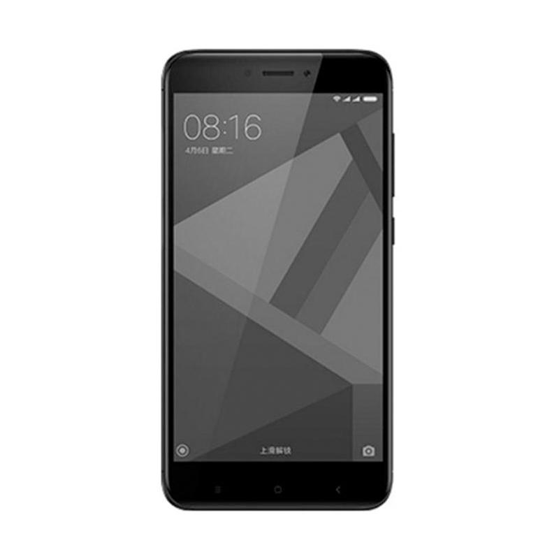Xiaomi Redmi 4X Smartphone - Black [32 GB/3 GB/Garansi Resmi TAM]