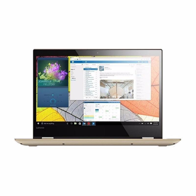 harga Lenovo YOGA 520-14IKB-81C800-8LID GOLD - [Intel Core i5-8250U 1.6-3.4GHz/8GB/1TB/GT940MX 2GB/14