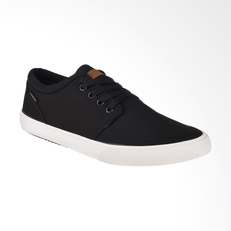 Airwalk Jair Sepatu Pria - Black AIW17CV0240S