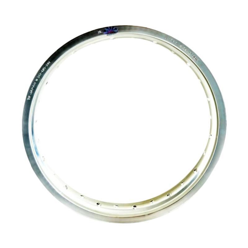 TK Bright 28 Holes 215-18 Velg Motor - Silver [VEG1118-Silver]