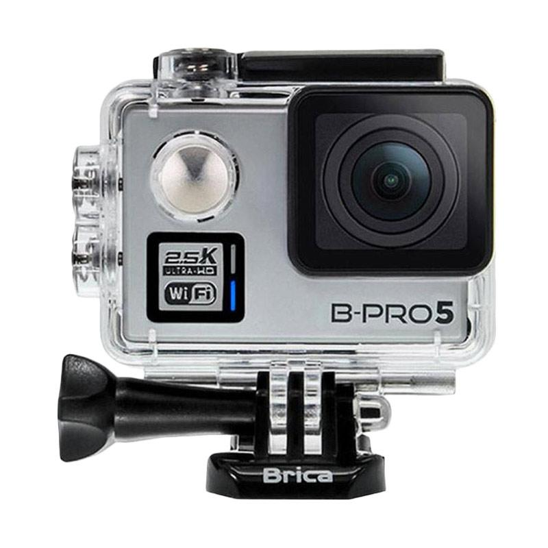 Brica B-PRO 5 Alpha Plus Version 2 AP2 Action Camera + Tongsis Attanta 08-A - Silver