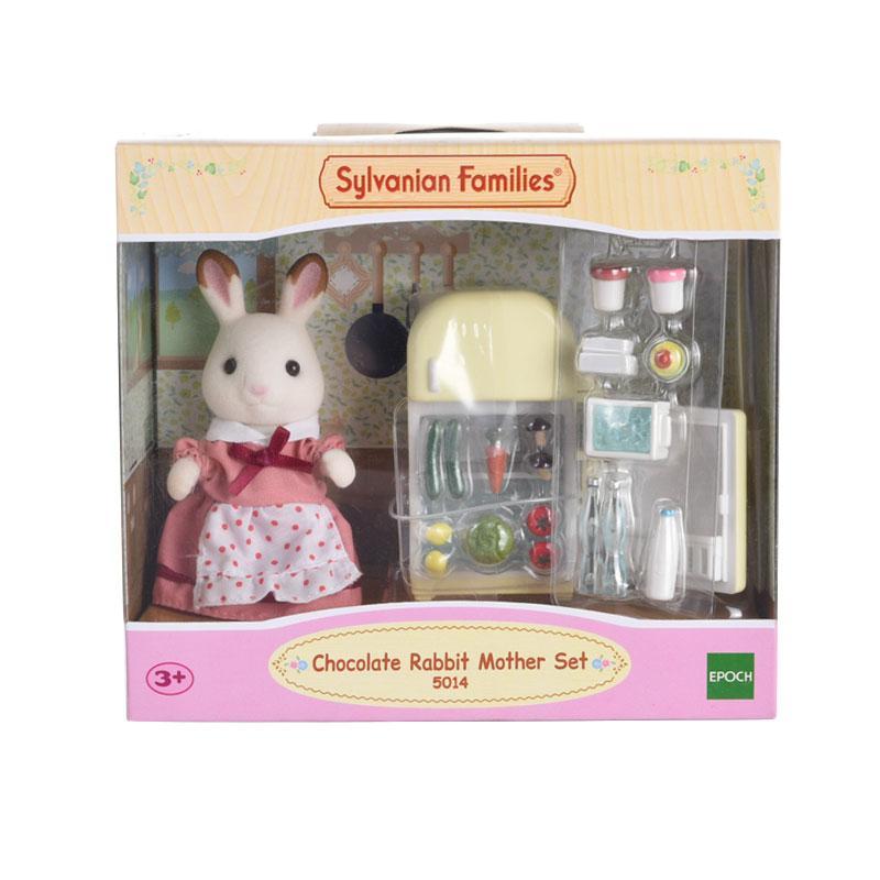Sylvanian Families Chocolate Rabbit Mother Set Mainan Anak