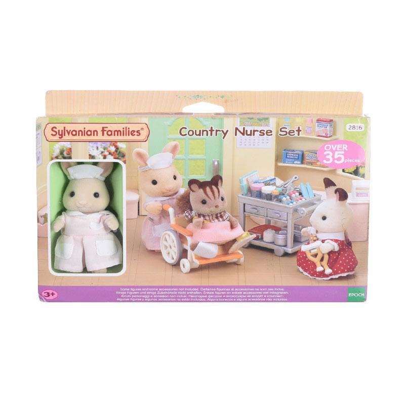 Sylvanian Families Country Nurse Set Mainan Anak