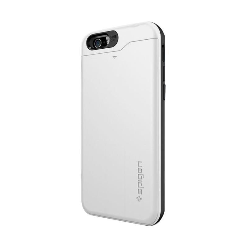 Spigen Slim Armor CS Casing for iPhone 6 4.7 Inch - Shimmery White