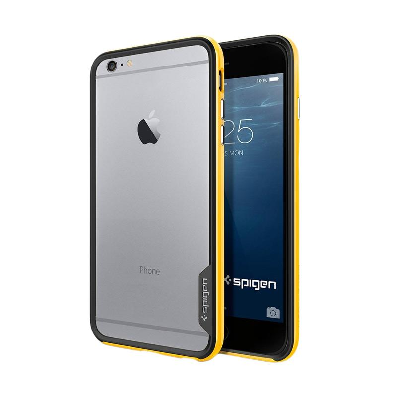 Spigen Neo Hybrid EX Reventon Casing with Flexible Inner Bumper and Reinforced Hard Frame for iPhone 6S or iPhone 6 - Yellow