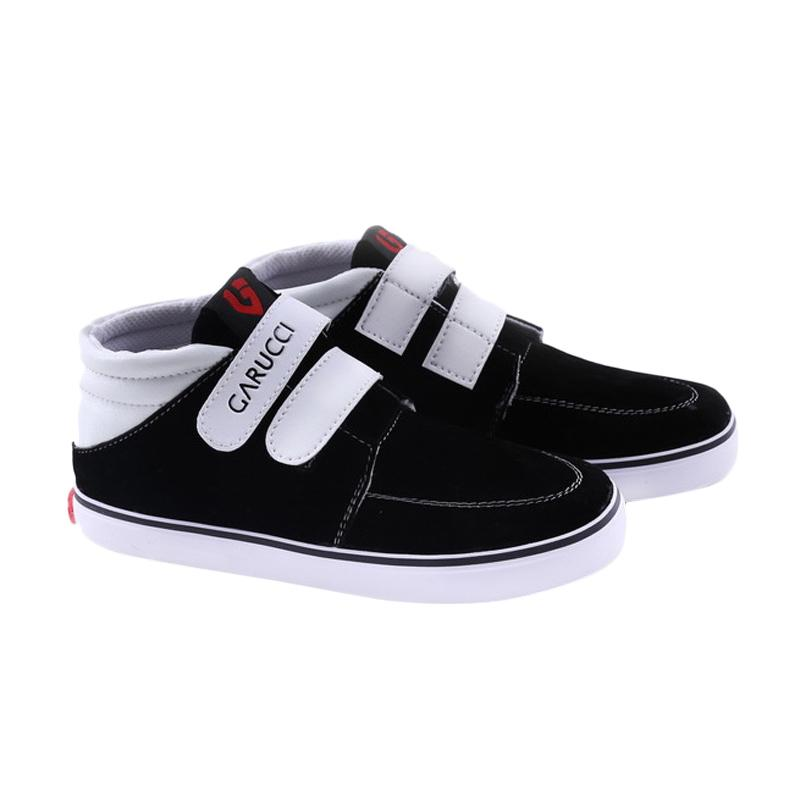Garucci GAK 807 Sepatu Kasual Anak Laki-Laki - Black