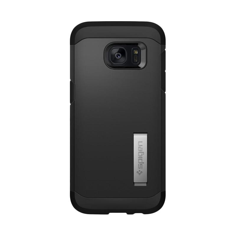 Spigen Tough Armor Extreme Casing with Kickstand for Samsung Galaxy S7 Edge 2016 - Black