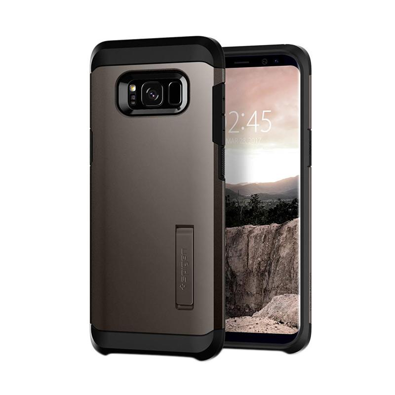 Spigen Tough Armor Casing for Samsung Galaxy S8 2017 - Gunmetal