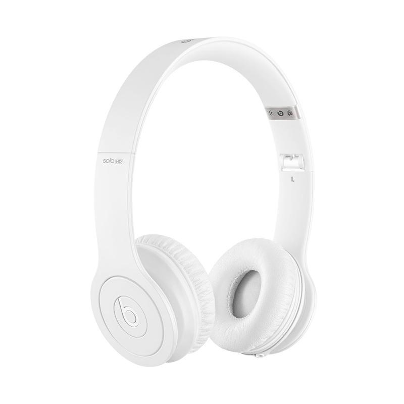 Beats Solo HD Wired On-Ear Headphone - Matte White