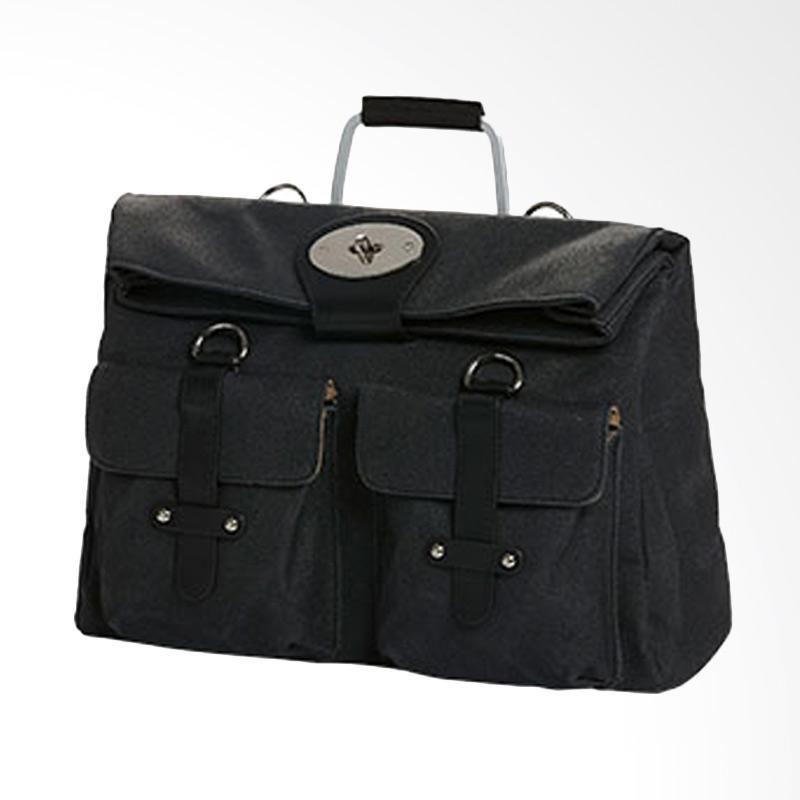 Amore Daniel Packer 14 inch Multiway Bag Hand Bag - Black