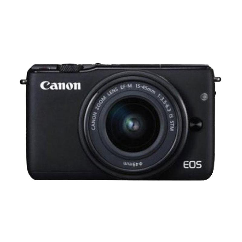 Canon EOS M10 Kit EF-M15-45mm Kamera Mirrorless - Black
