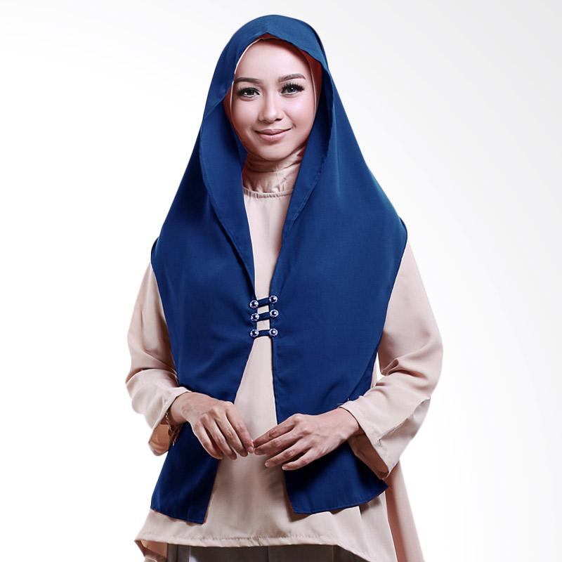 harga Cotton Bee Hoodie Rina Nose Jilbab Instant - Blue Blibli.com