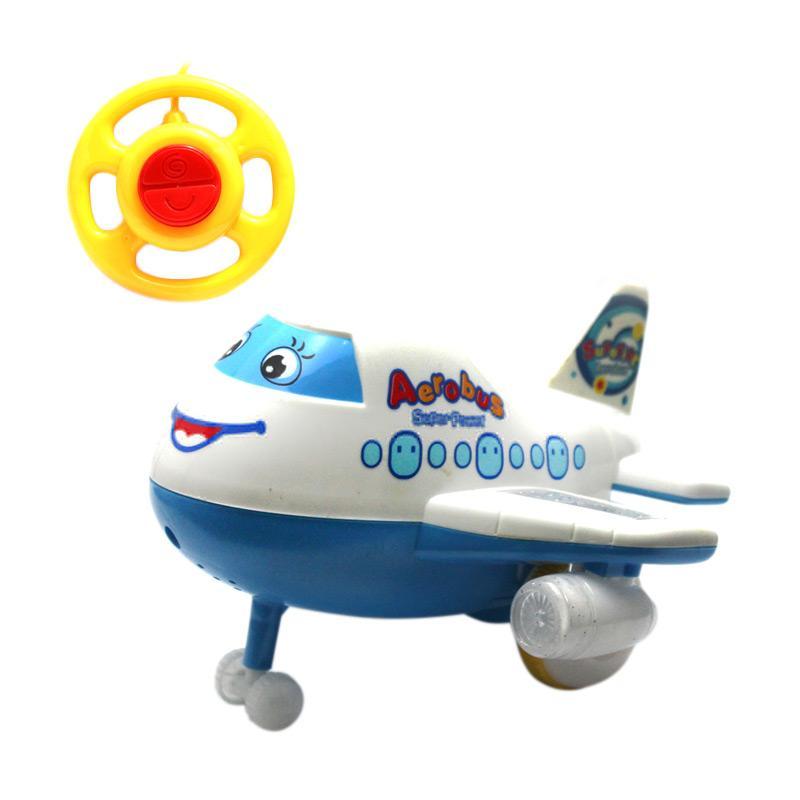 harga RC Pesawat Super Aerobus Mainan Remote Control - White Blibli.com