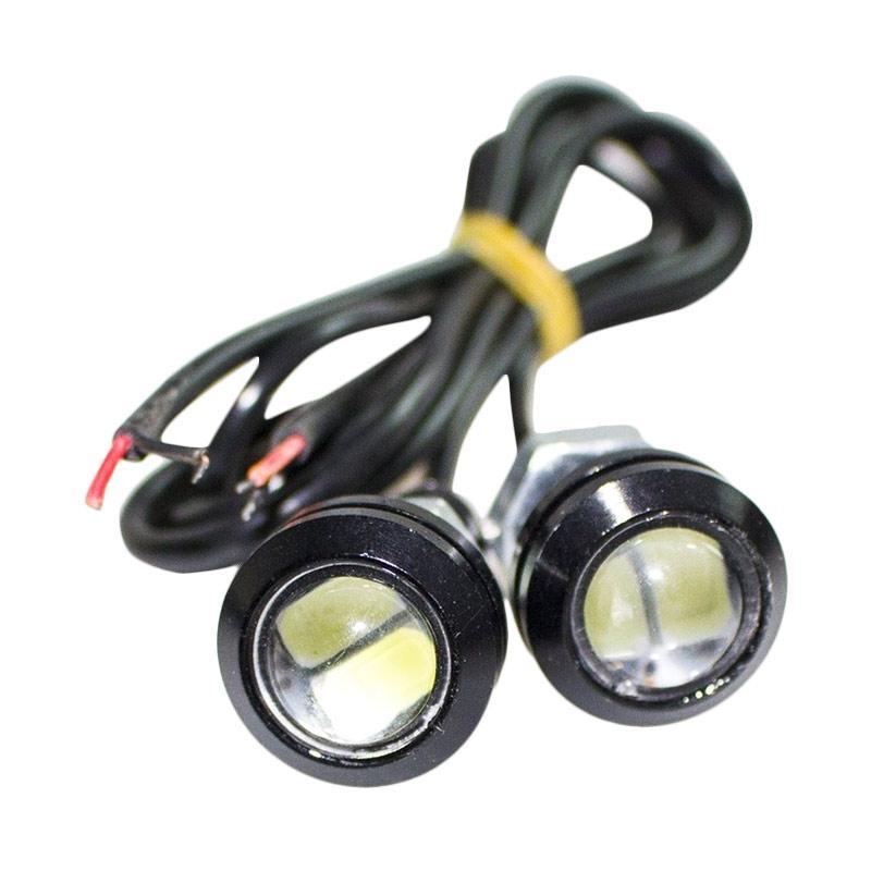 Jms 1 Pair 2 Pcs Lampu Led Mobil Motor Eagle Eye Drl Daytime Turn Source ·