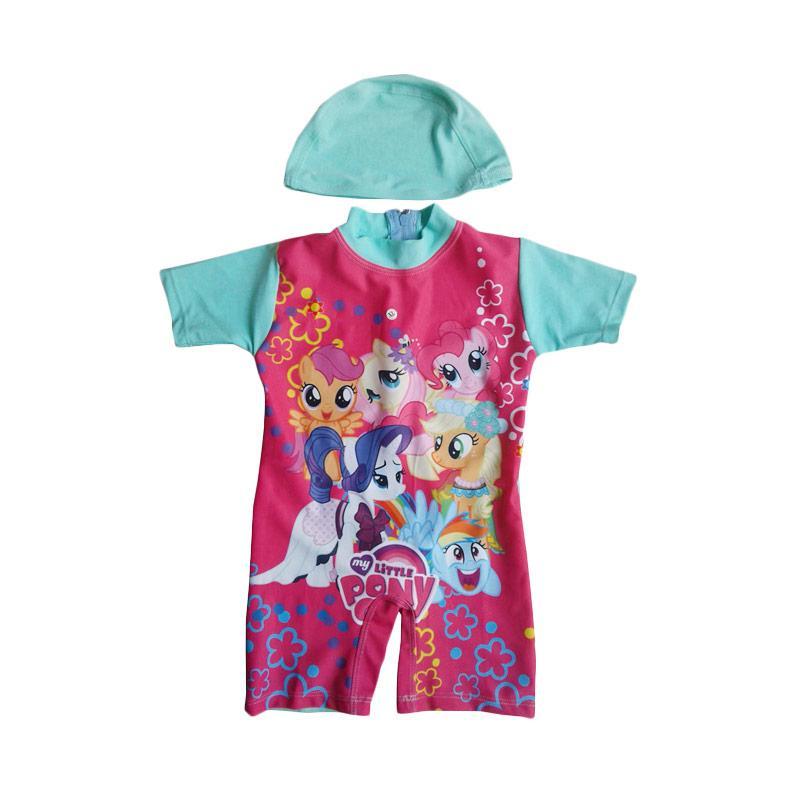 Rainy Collections Karakter Little Pony Baju Renang Bayi - Turquoise