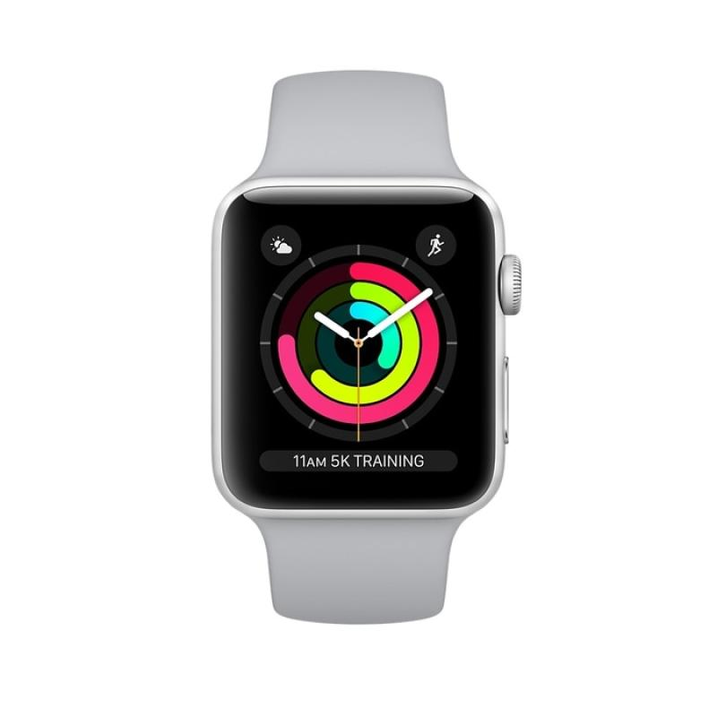 Apple Watch Series 3 GPS Aluminium with Fog Sport Band Smart Watch - Silver [38mm] - 25958842,337_25958842,4966000,blibli.com,Apple-Watch-Series-3-GPS-Aluminium-with-Fog-Sport-Band-Smart-Watch-Silver-38mm-337_25958842,Apple Watch Series 3 GPS Aluminium with Fog Sport Band Smart Watch - Silver [38mm]