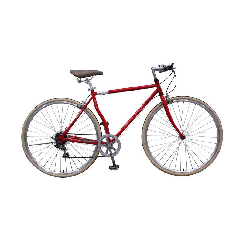 harga London Taxi Roadbike 700 C 6 Speed Sepeda - Red [Jawa Kota] Blibli.com