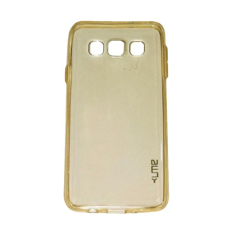 Ume Ultrathin Silicone Jelly Softcase Casing for Samsung Galaxy A5 A500F - Kuning