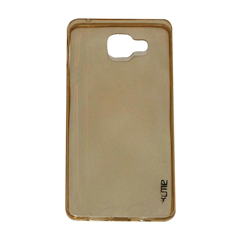 Ume Ultrathin Silicone Jelly Softcase Casing for Samsung Galaxy A7 2016 A710 - Kuning