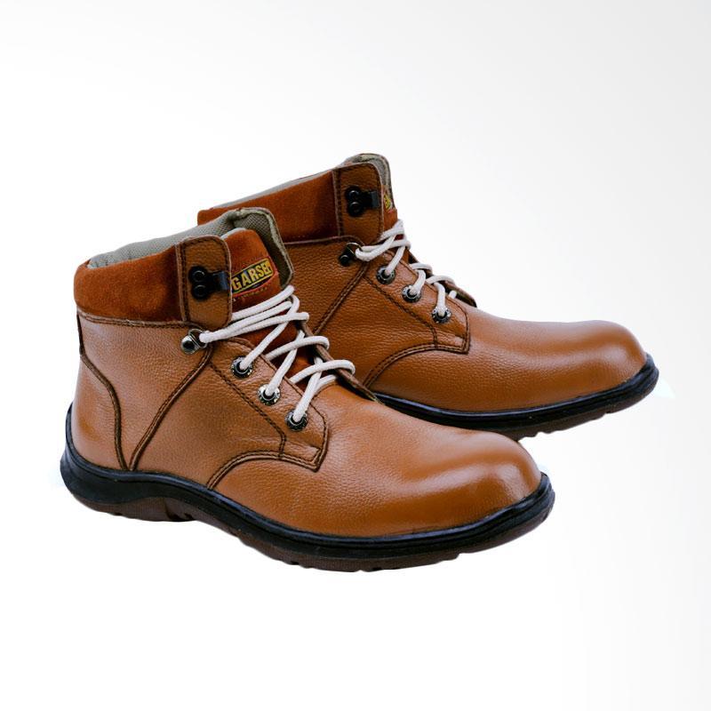 Garsel GRN 2502 Sepatu Boots Pria - Tan