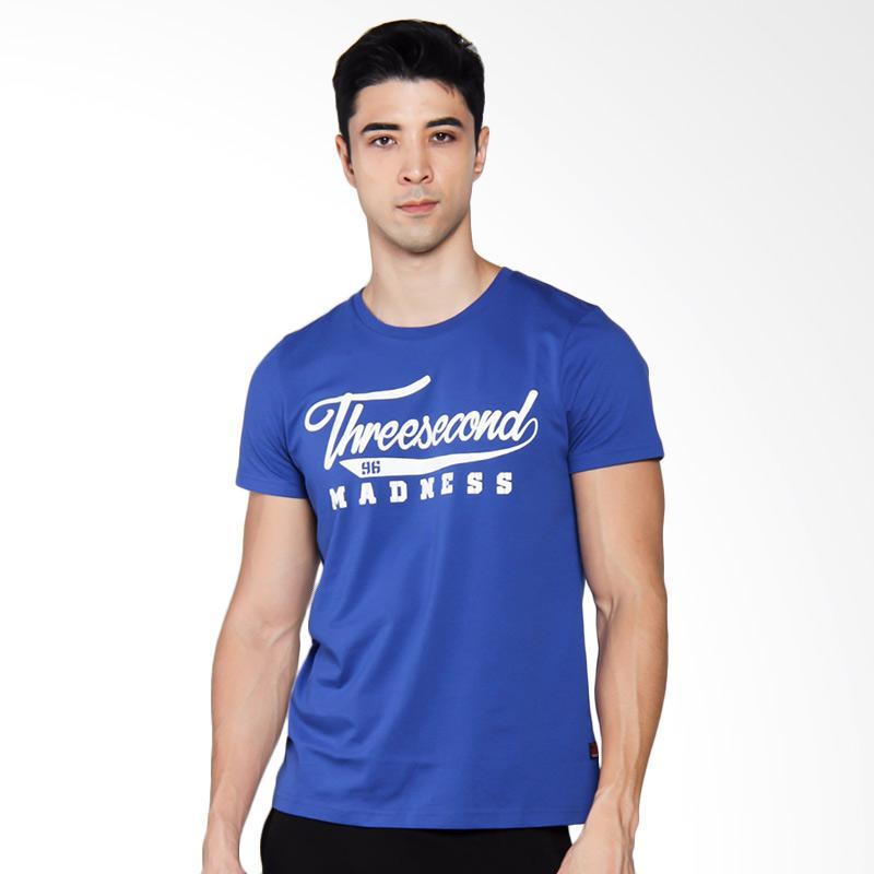 3SECOND 2904 T-shirt Pria - Blue [129041712]