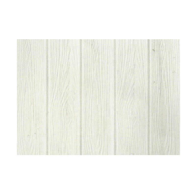 Hyundae Fixpix APB 25 Roll Fix Wood 3D Wallcover Foam Embossed dekorasi Dinding - White