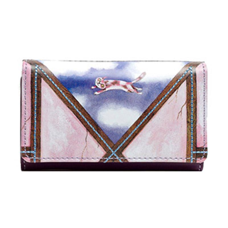 IPC Mansion Selected Jimmy Pinky Cat Short Key Purse