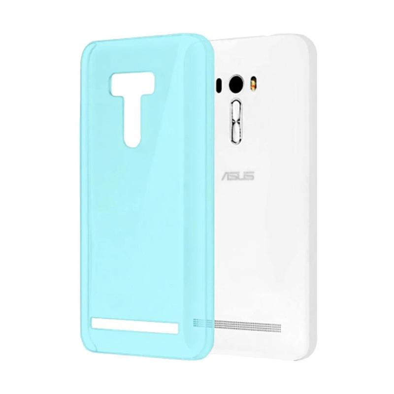 Ume Ultrathin Silicone Jelly Softcase Casing for Asus Zenfone Selfie ZD551KL - Biru