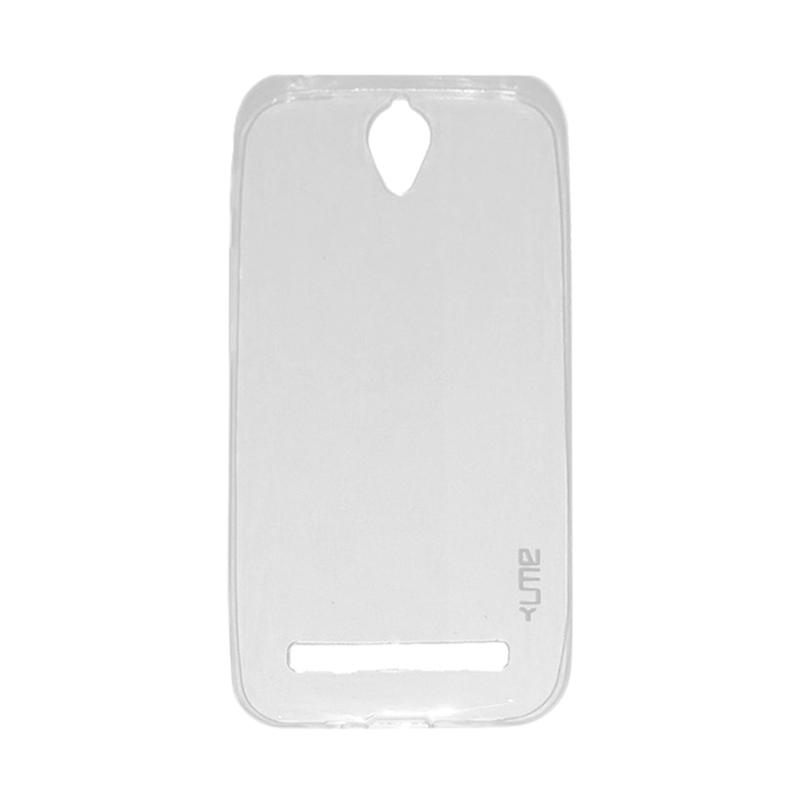 Ume Ultrathin Silicone Jelly Softcase Casing for Asus Zenfone Go 4.5 inch ZC451TG - Transparan