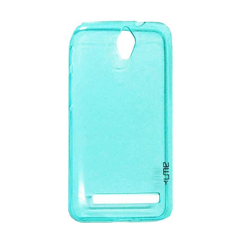 Ume Ultrathin Silicone Jelly Softcase Casing for Asus Zenfone C ZC451CG - Biru