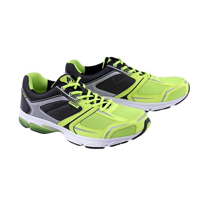 Garsel Sepatu Badminton Pria - Kuning Kombinasi [GRE 7755]