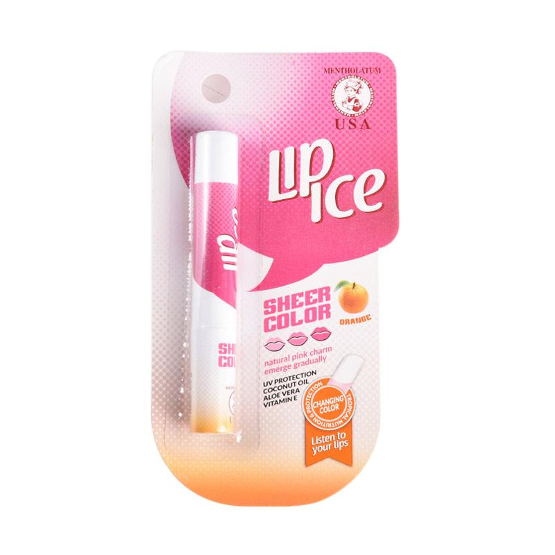 Lip Ice Sheer Colour Orange Lip Balm