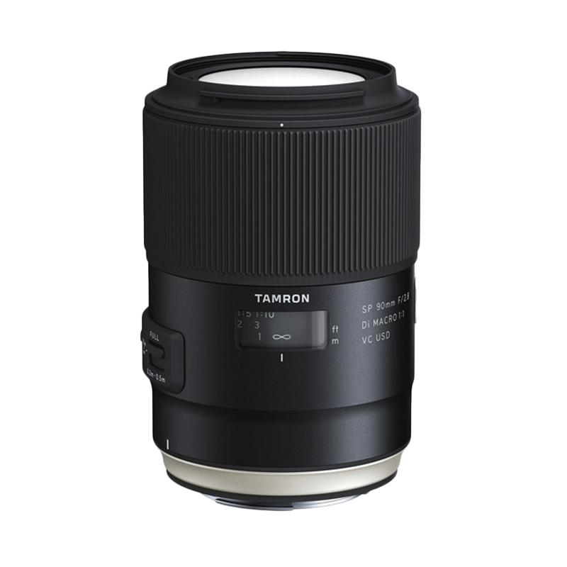 Tamron Lens AF 90mm f/2.8 Di Macro VC USD for Canon