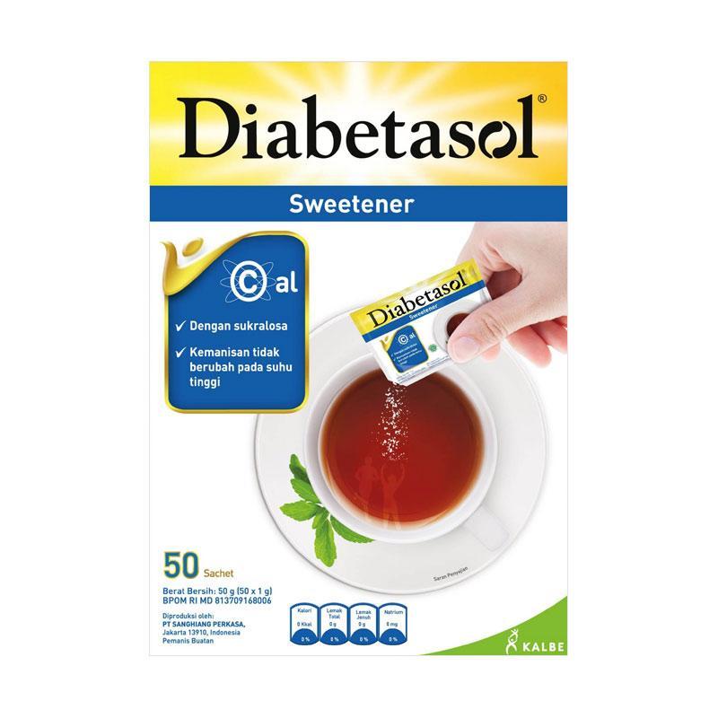 Diabetasol Sweetener [50 Sachet]