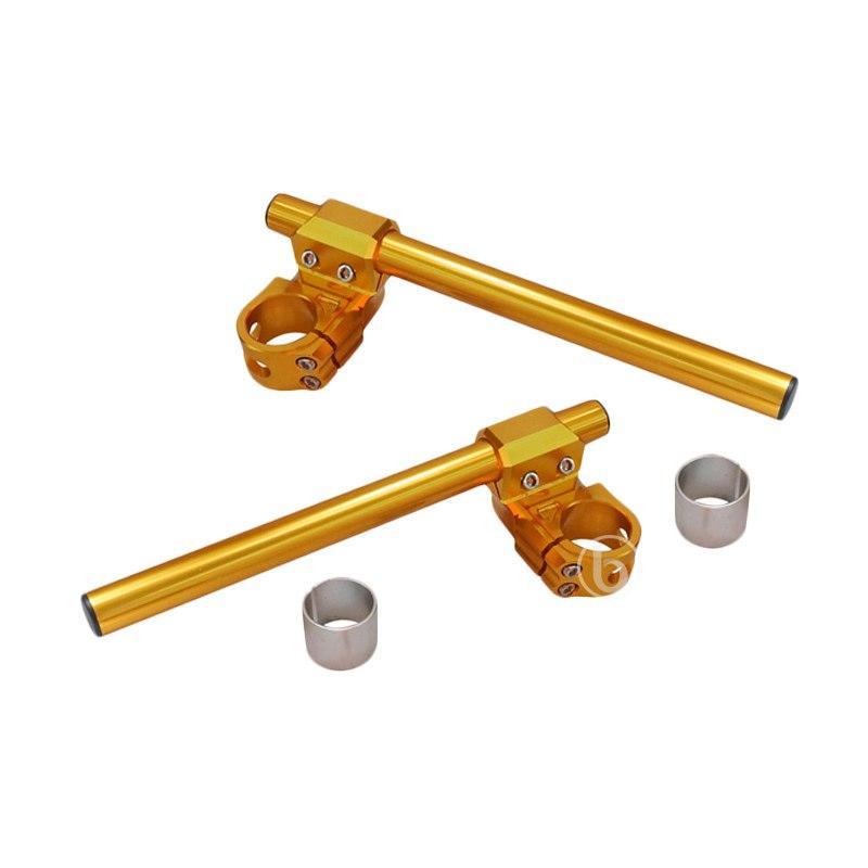 harga NUI Racing M Plus Stang Jepit for Minerva - Gold [41 mm] Blibli.com