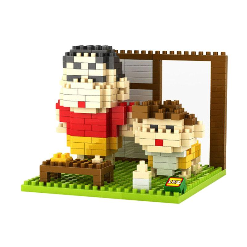 Loz Gift Boy 9464 Mainan Blok dan Puzzle [Large]