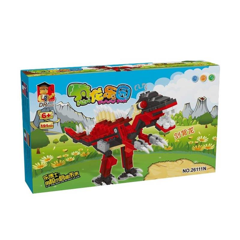 Dr LUCK Dinosaur Park 26111 Blocks & Stacking Toys