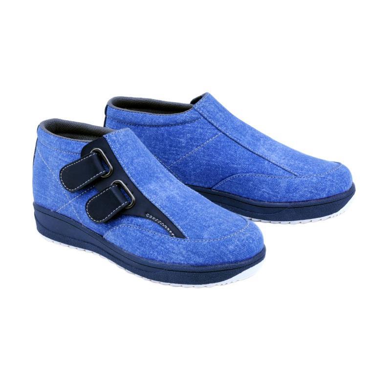 Garsel GMU 9529 Sneakers Shoes Sepatu Anak Laki-Laki - Biru