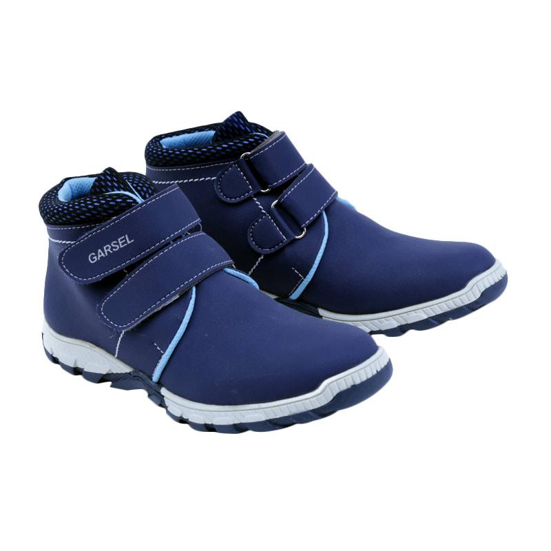 Garsel GW 9538 Sneakers Shoes Sepatu Anak Laki - Laki